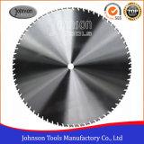 1200mm 다이아몬드는 무거운 강화된 콘크리트를 위해 예리한 세그먼트를 가진 톱날을