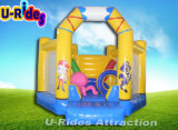 Commercial inflatable bouncer inflatable moonwalk inflatable trampoline for kids