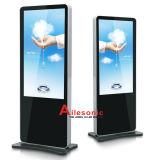 Fußboden-Standplatz-DigitalSignage LCD-Bildschirmanzeige, die Bildschirm-Video-Player 32 42 46 55 65 bekanntmacht