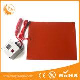 Almofada elétrica do sensor da pressão das almofadas de aquecimento da base do calefator da borracha de silicone