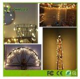 2.5W 1.5wwaterproof屋外の暖かく白い妖精の星明かりのUSB LEDストリングライトクリスマスの照明