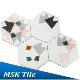 De geometrische Hexagon Tegel Mskxh002b van Wall&Floor van het Porselein