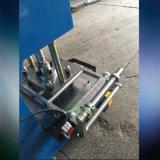 Кожаный машина гравировки PU PVC бумажная горячая штемпелюя выбивая