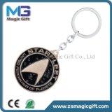 Trousseau de clés promotionnel des prix en métal bon marché d'antiquité