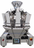 1.3L /2.5L PLC van de Vultrechter van het Roestvrij staal de Weger van Multihead van de Controle voor verpakkende Machine