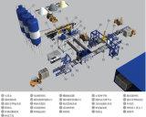 O cimento Automática Completa8-15 Qt/bloco de betão/máquina para fabricação de tijolos