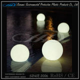 Material de moldeo Rorational PE LED modernos Bola de plástico resistente al agua