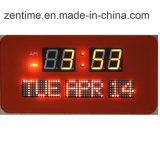 Horloge murale numérique LED Date affichée dans le prix d'usine