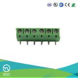 Conetores de cabo elétrico dos blocos terminais do PWB do passo da manufatura 5.0mm de Utl
