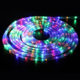 Heißer Verkaufs-buntes Seil-Licht für Stadt-Dekoration-Regenbogen-Gefäß