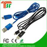 Câble rond USB de charge et de transfert de données pour iPhone