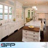 Armadio da cucina personalizzato della mobilia di legno solido