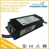 Triac di approvazione 36W 600mA 700mA 800mA 900mA dell'UL che oscura il driver del LED