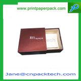 Boîte-cadeau cosmétique de empaquetage personnalisée d'emballage de chocolat de T-shirt de produit d'extensions de cheveu de cadres de couvercle et de plateau de papier fabriqué à la main de faveur d'impression