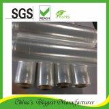 Le PE de LLDPE étanche à l'humidité Pré-Étirent le film protecteur en plastique de rétrécissement d'enveloppe