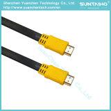 Cable plano de alta velocidad macho a macho HDMI con Ethernet