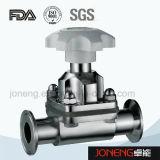 Trasformazione dei prodotti alimentari dell'acciaio inossidabile un tipo valvola a diaframma (JN-DV1009) di 3 modi U