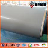 Le matériau de décoration a enduit la bande d'une première couche de peinture en aluminium (AF-390)