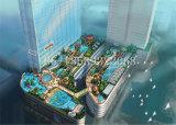Parque Profesional Diseño Conceptual de fibra de vidrio de agua para la diversión