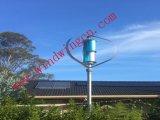 1000W menos generador eólico de 25dB Sistema de casa en el techo