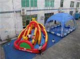 Trasparenza gonfiabile esterna della sosta del campo da giuoco dell'acqua per i bambini