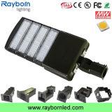 Montaje ajustable LED de área de las luces de caja de zapatos 200W para luz de estacionamiento
