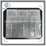 RFIDのスマートなガラス札の動物の注入のマイクロチップペットIDの札