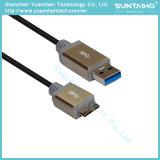 Кабель USB a разъем Micro USB кабель мужского пола с помощью металлического корпуса для компьютера