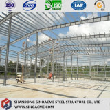 Armazém Prefab da indústria do aço estrutural da luz da grande extensão