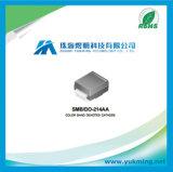 Diodo de rectificador Ss24 del componente electrónico