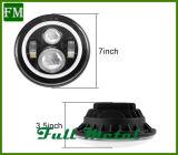 Мигающий автоматическое управление RGB LED с галогенными лампами освещения передней части автомобиля