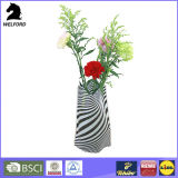 Nouveaux vases à fleurs pliables en plastique design