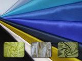 La Chine fournisseur Tissu satin extensibles de polyester colorées pour robe de soirée
