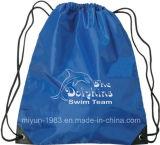 O Nonwoven da impressão do cliente caçoa o saco de Drawstring de Silik (M.Y.D-019)