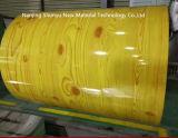 PPGIの木パターンPPGIは電流を通された鋼鉄コイルをPrepainted