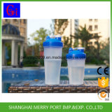 Бутылка трасучки протеина воды бутылки трасучки пластичная