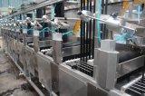 새로운 디자인 Nylon+Polyester 리본 지속적인 염색 및 끝마무리 기계