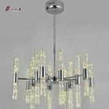 Einfacher Entwurfs-Beleuchtung-Aluminiumhängende Kristalllampe