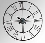 La decoración del hogar Metal forma de engranaje antiguo reloj de pared Art Decó