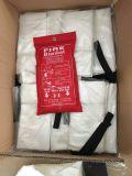 火のRetardent毛布、ガラス繊維の火毛布、火毛布