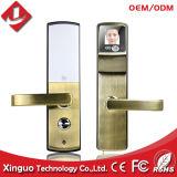 Fechamento biométrico da porta facial