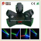 luz móvil de la viga de las pistas de 3PCS LED
