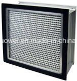 Filter van de Plooi HEPA van het Frame van het aluminium de Diepe