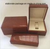 Contenitore di legno di collana del contenitore di anello degli alti monili lucidi della lacca