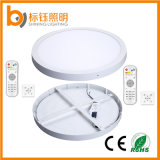 600mm Round 48W Dimmable Fitting montaje en superficie LED Panel lámpara de luz de techo