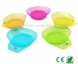 Avaliador 5kg / 1g Saúde Nutrição Digital Kitchen Bowl Scale