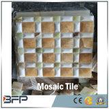 Varios diseños para la decoración de mosaico de mármol blanco