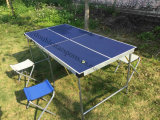 Mini table de tennis de table en plein air pour enfants