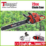 Chainsaw 72cc/82cc робастный с Ce, GS, сертификатами евро II