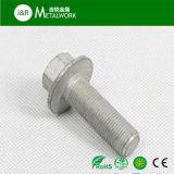 M8 M10 Carbon Steel Grade 8.8 Grade 10.9 Black Oxide Hex Flange Head Bolt DIN6921